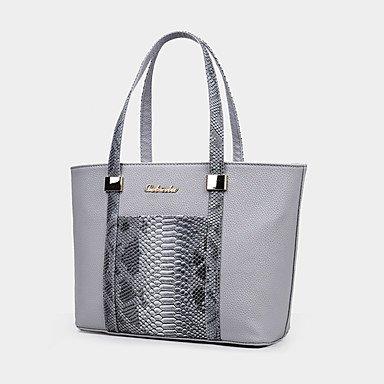 La donna pu formale / Casual / evento/parte / Ufficio & Carriera Set borsa,Fuchsia White