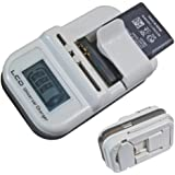 Universal Cargador Batería Litio Cable Cargador USB para HTC Samsung LG Sony Nokia