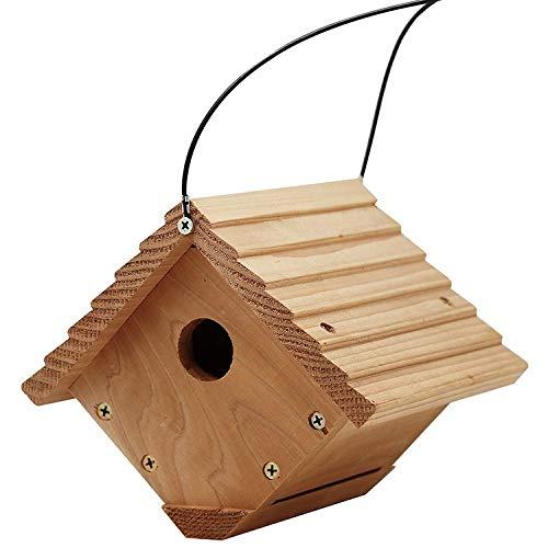 Ailihan Maison d'Oiseaux nichent des Oiseaux Sauvages décoration Protection (env. 18 * 17 * 16. 5 cm)