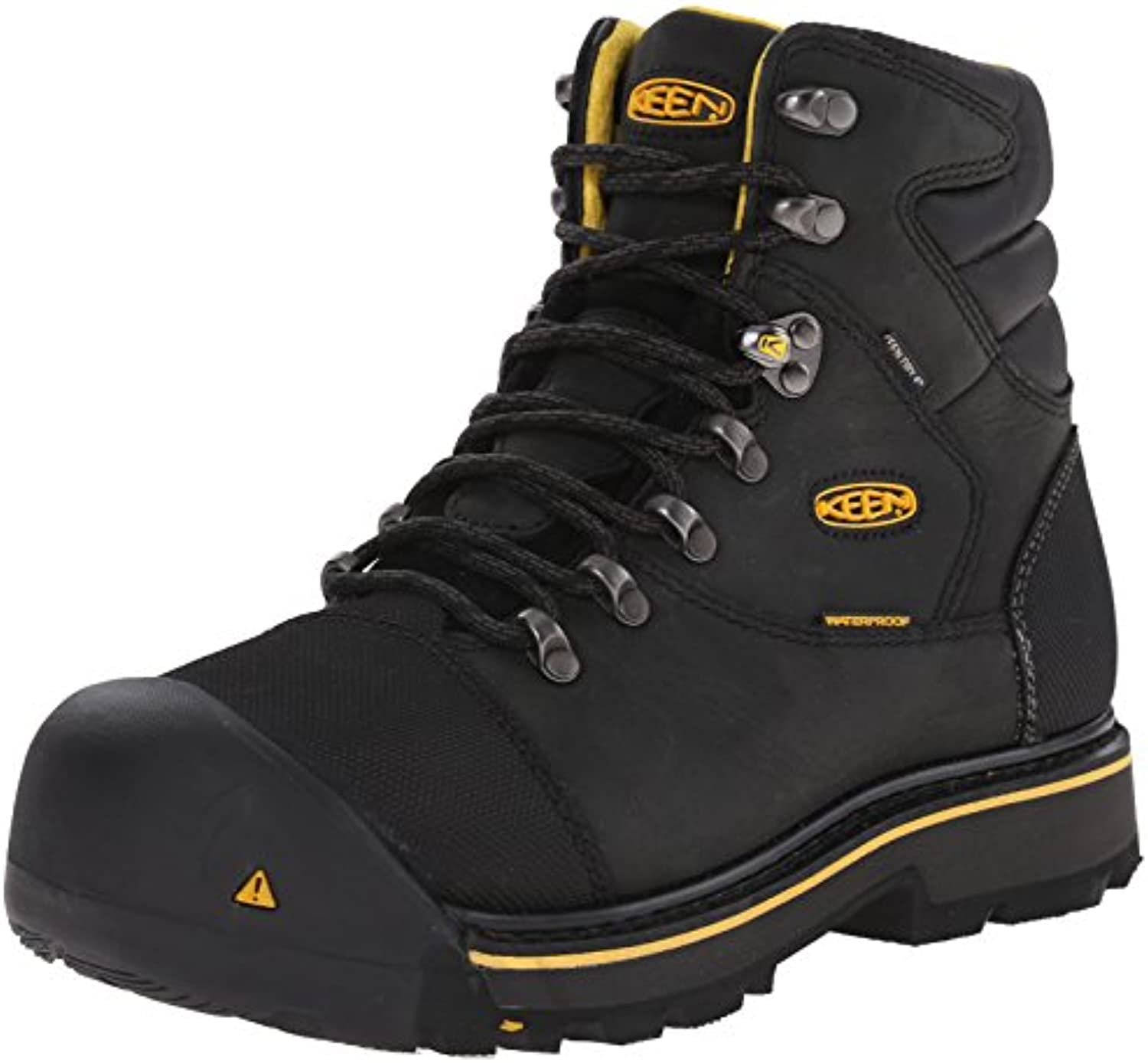 Keen Utility Men's Milwaukee WP Work Boot Black 12 D US