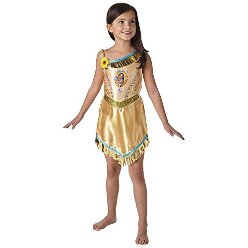 Rubie's Disney Kinder Kostüm Indianerin Pocahontas Karneval Gr.5 -