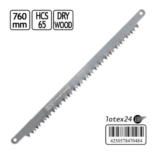 Ersatzsägeblatt Sägeblatt Handsäge Bügelsäge 760 mm Trocken Holz
