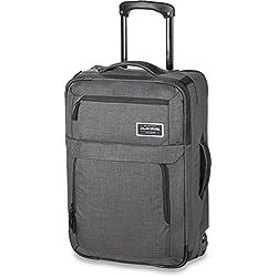 Dakine Carry On Roller 40L Tranvía 40L Poliéster Carbono - Bolsa de viaje (40 L, 55 cm, 20 cm, 35 cm, 2,7 kg, Carbono)