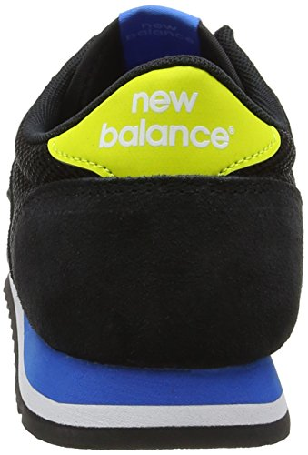 New Balance 70s Running, Sneakers Basses Mixte Adulte Noir (Black)
