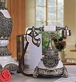 Europäischen klassischen Telefonieren zu Display Innovative Antik Telefon Retro Alten europäischen Telefon Set (Classical wood)