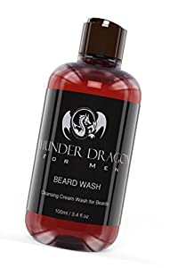 Want To Improve Your Beard In 6 Different Ways? Our Premium Beard Shampoo / Wash Gives You A Clean, Softer, Manageable Beard & Stops Sensitive Skin Drying Out. Our Organic Creamy Soap Is The Solution – Cleanses Without Stripping Your Beard Of It's Natural Oils By Using Premium Organic Ingredients – Free From Chemicals – Shampoo & Conditioner All In One 100ml Bottle – Plus Receive Our Ebook Absolutely Free – Money Back Guarantee, If You Don't Love Our Beard Wash Get Your Money Back! Great Gift