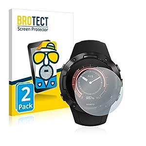 BROTECT 2X Entspiegelungs-Schutzfolie kompatibel mit Suunto 5 Displayschutz-Folie Matt, Anti-Reflex, Anti-Fingerprint
