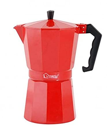 Italian Coffee Maker (12 Cups Red)