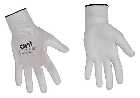 Bracelet Antistatique - Avit AV13074 Gants revêtement polyuréthane - taille
