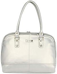 acb24438d14 Silver Women's Top-Handle Bags: Buy Silver Women's Top-Handle Bags ...