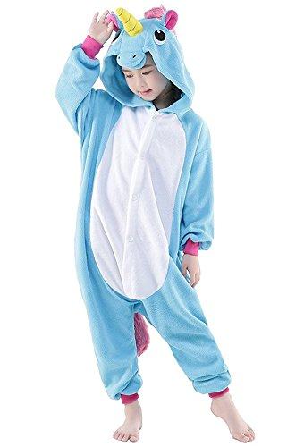 Kinder Schlafanzug Tierkostüme Pyjamas Cartoon Cosplay Onesize Weihnachten Karneval - Très Chic (Kostüme Kinder Für Ganzkörper)
