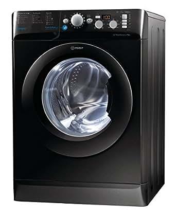 Indesit BWD71453KUK 7kg 1400rpm Freestanding Washing Machine-Black