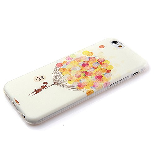 iPhone SE Hülle,iPhone 5S Hülle,iPhone 5 Hülle,NSSTAR Soft TPU Schutzhülle für iPhone 5,iPhone 5 Blume Muster Hülle Ultra Slim Perfect Fit Gel Cover Tasche Bunte Kreative Schutz Case Handytasche Handy 18#,TPU