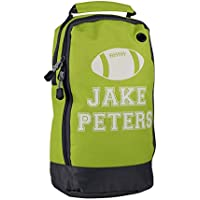 Personalised Boot Bag, Rugby Boot Bag, Shoe Bag, Rugby Ball Design