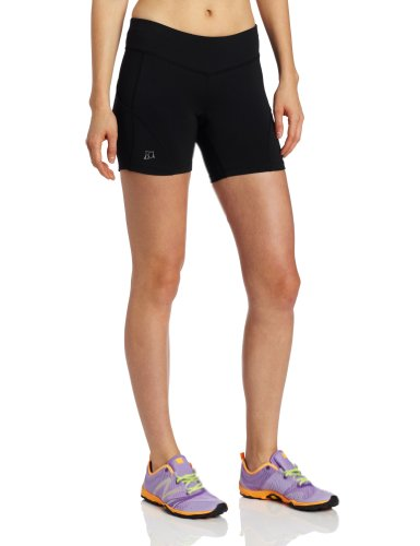 Frauen Yoga Bike-shorts (Rock Sports Damen Fitness Redemption Shorts – Athletic Shorts, Damen, schwarz, X-Small)