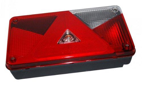 Aspöck Mehrfunktionsleuchte Multipoint V, rechts - 102.42.49- verkabelt und montierten Glühbirnen - - Montierten 42