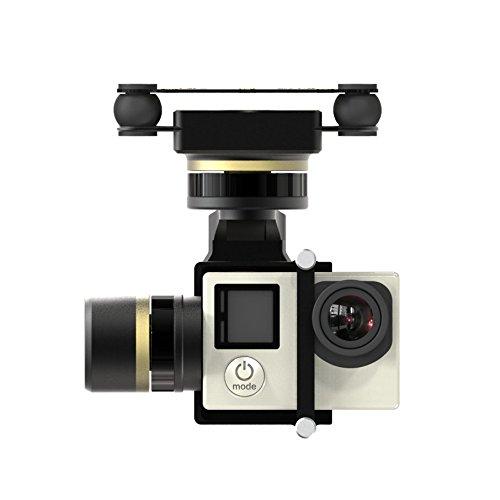 Preisvergleich Produktbild Calli Feiyu Tech FY MiNi3D Pro 3 Achsen 6 Damper Kugel Brushless Gimbal Für GoPro4 GoPro3 + GoPro3 Sport Kamera