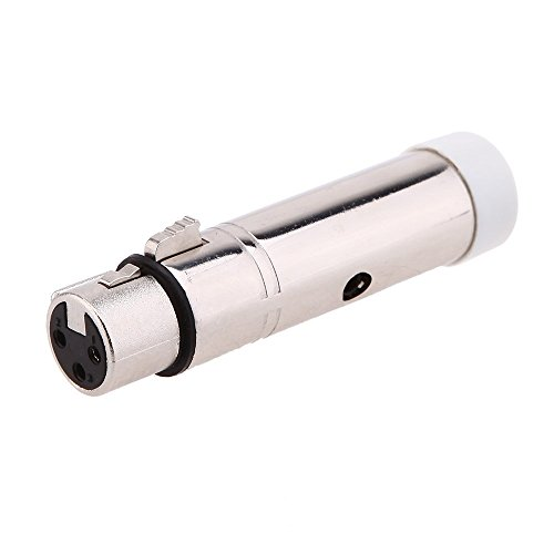 unita' DMX ricevitore wireless - TOOGOO(R)Senza Fili Femminile XLR Ricevitore Led Illuminazione Per Palcoscenico Partito Luce, 2.4G ISM DMX512
