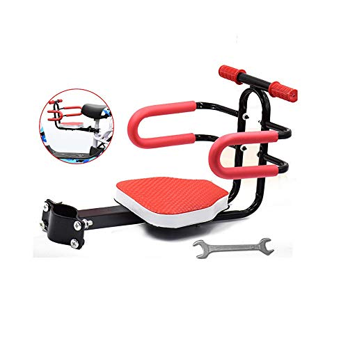 Yamyannie-Sports Elektro Motorrad Kindersitz Roller Batterie Auto Kind Baby Sicherheitssitz Vordersitz (Farbe : A, Größe : 3)