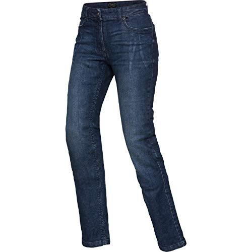 Spirit Motors Motorrad Jeans Motorradhose Motorradjeans Damen Aramid-/Baumwolljeans Stretch 3.0 blau 30/32, Chopper/Cruiser, Ganzjährig, Textil