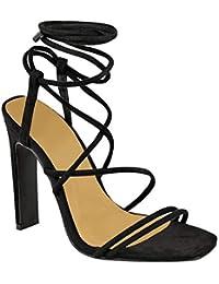 Mujer es Para 41 Fiesta Sandalias Amazon Zapatos Z6WCqUCd