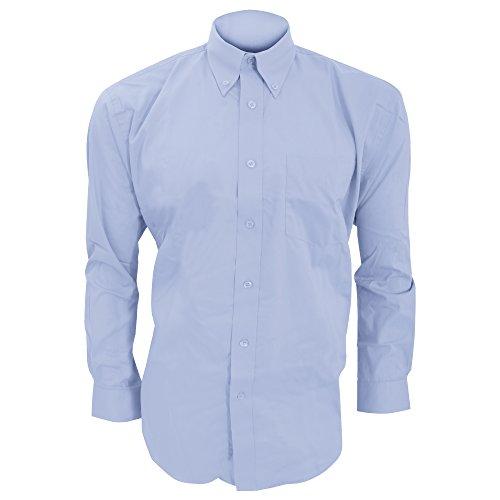 Kustom Kit - Camicia Manica Lunga - Uomo Azzurro
