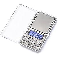 Eidyer Digital Pocket Scale,100g-0.01g Mini Scales, Portable Pocket Mini Scale Portable Weighting LCD Display, for Kitchen Food, Jewellery, Drug, Coffee