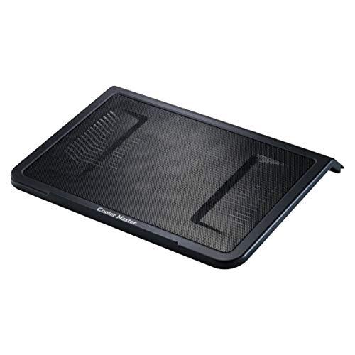 Cooler Master NotePal L1 Notebook-Kühler 'Leiser 160mm Lüfter, Aerodynamic Design Air Intakes, Kompatibel mit bis zu 17 Zoll Laptops' R9-NBC-NPL1-GP - Kühler Laptop Master