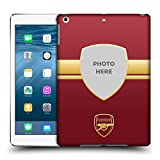 Head Case Designs Personalisierte Individuelle Arsenal FC Rot Un Gold 2018/19 Fotos Ruckseite Hülle für iPad Air (2013)