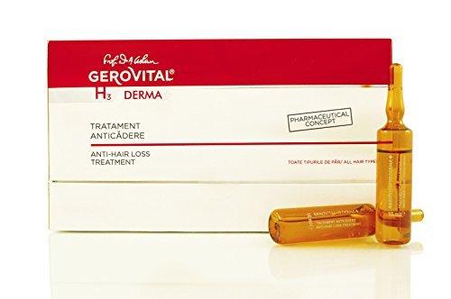 Tratamiento con ampollas anticaída, producto concepto farmacéutico, para todo tipo de pelos, hipoalergénico, sin jabón, colorantes o SLS, para la caída excesiva del pelo. Estimula el crecimiento
