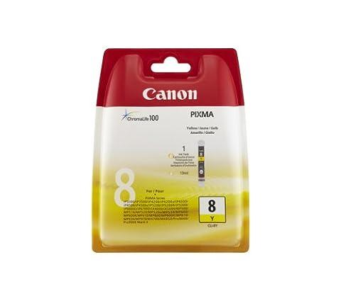 Canon Cli-8 Cartouche à Jet d'Encre Originale Jaune