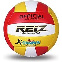 8ae0e01d65 Fantasyworld Reiz Soft PU Oficial Voleibol   5 Tamaño Profesional de  Voleibol de Interior y al