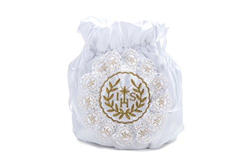 Frühlings-SALE! Brauttasche Abendtasche festliche Tasche Weiß/Gold/Gold