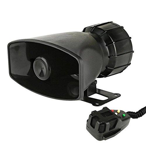 Paging-einheit (Pyle Alarm Horn Lautsprecher Sirene & PA Mikrofon, Notfall Warnung Audio Alert Sicherheit System (psrntk25))