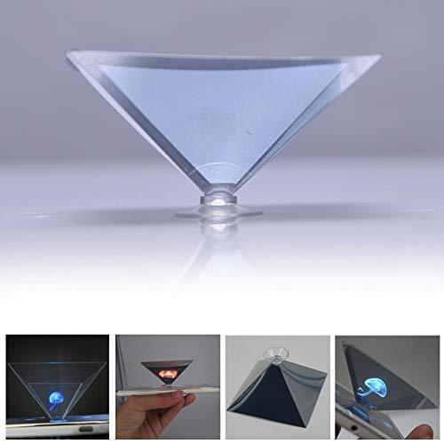 Ogquaton Smartphone Hologramm Werben Sie mit 3D Holographic Film Tablet Showcase Langlebig und nützlich (Holographic Film)