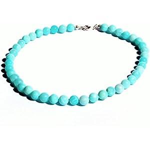 Fine Art Opal Halskette Türkis Blau Geschenk