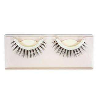 IGEMY New 1Pair Natural Long Thick Soft Self-Adhesive False Eyelashes Handmade (C)