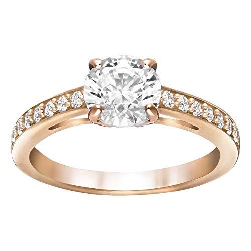 Swarovski Damen-Ringe Edelstahl Kristall '- Ringgröße 50 5184217