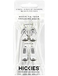 Hickies Cordones Elásticos No-Tie Originals' (14 Unidades, Funciona con todas las zapatillas)