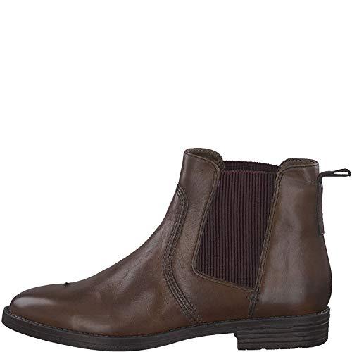 Tamaris Damen 1-1-25306-23 305 Chelsea Boots Braun (Cognac), 39 EU