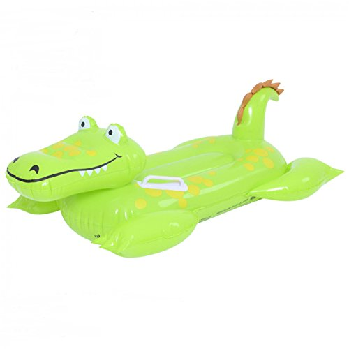 Alligator Cocodrilo hinchable con asas infantil 102 cm x 66 cm Caiman...