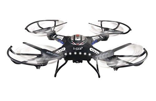 s-idee® 01540 Quadrocopter S183W HD KAMERA WIFI 4.5 Kanal 2.4 Ghz Drohne mit Gyroscope Technik DROHNE MIT WIFI FPV Drohne HD Kamera One Key Return Coming Home Funktion - 4