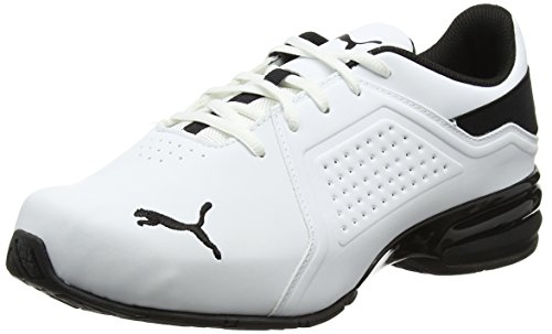 Puma Herren Viz Runner Cross-Trainer, Weiß White-Black, 40 EU (Cross-trainer Herren Sneaker)