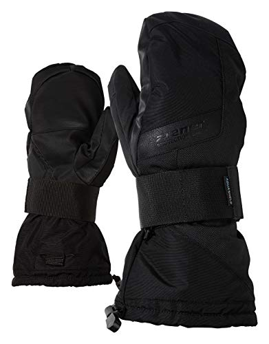 Ziener Erwachsene MITTIS AS(R) MITTEN glove SB Snowboard-handschuhe, schwarz (black hb), 8.5 -