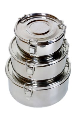 Relags Basic Nature Edelstahl Essensbehälter Food Container 1500ml Food-service-container