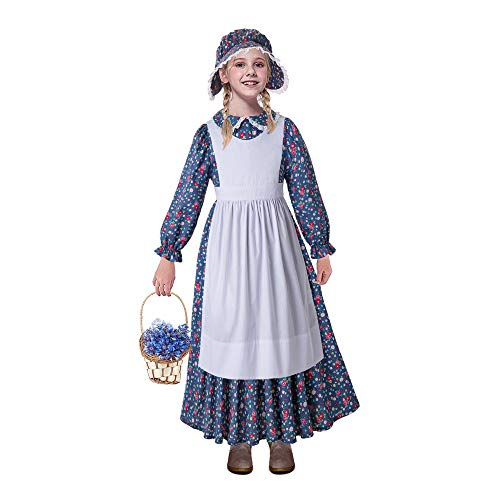 ionier Kostüm Kinder Colonial Prairie Dress Up ()