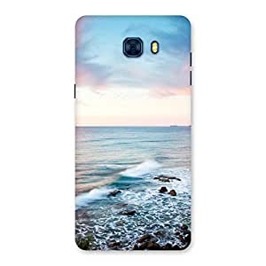 Neo World Beautiful Sunrise Back Case Cover for Galaxy C7 Pro