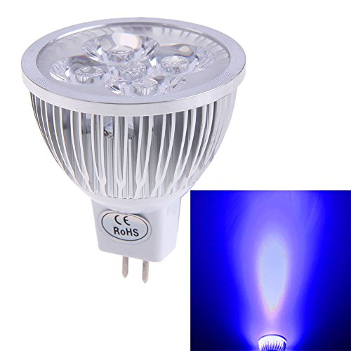 chinatera New MR164W 12V blau Licht LED Strahler Lampe geringer Stromverbrauch blau