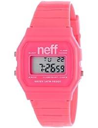 Beatnuts NF0204-pink - Reloj para mujeres, correa de plástico color rosa