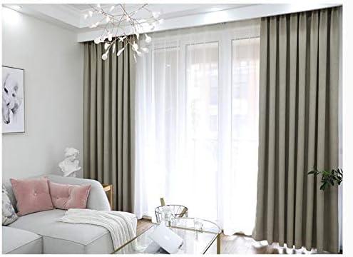Tende Camera Da Letto Argento : Oybb tende tende di da coloreee solido camera da di letto moderna